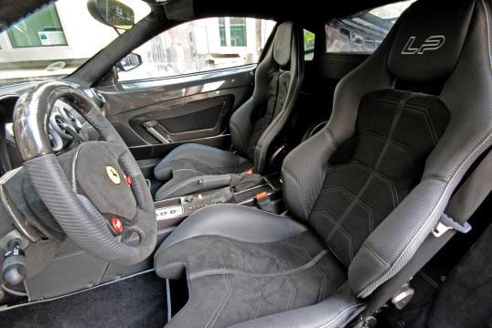 Interior Anderson Germany Ferrari F430 Scuderia Stealth Fighter Edition 2010