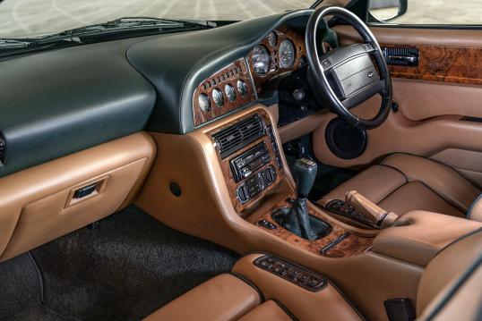 Interior Aston Martin V8 Vantage V550 Uk Spec 1993 99