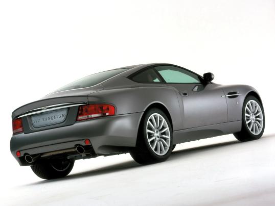 Aston Martin V12 Vanquish Worldwide 2001 06