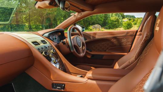 Interior Aston Martin Vanquish Zagato Shooting Brake Uk Spec 2018