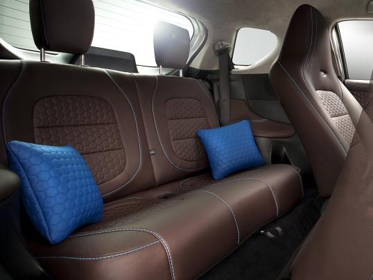 Interior Aston Martin Cygnet Cygnet Colette 2011