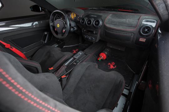 Interior Ferrari 430 Scuderia North America 2007 09