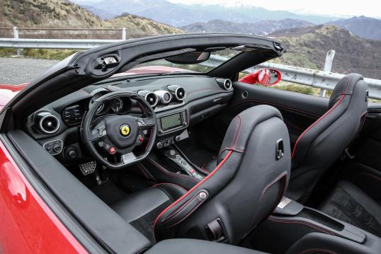 Interior Ferrari California T Hs Worldwide 2016 17