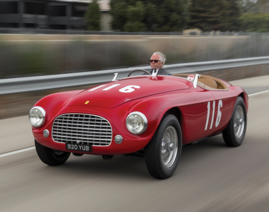 Ferrari 166 Mm Barchetta 0058m 1950