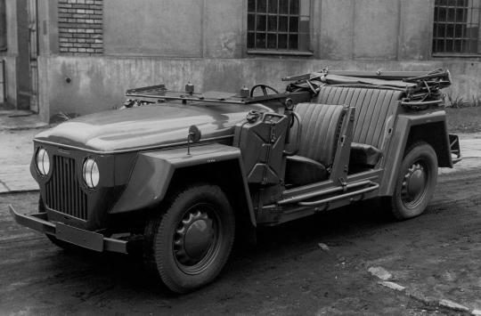 Škoda 1101 VO/P (Type 973) '1948–51